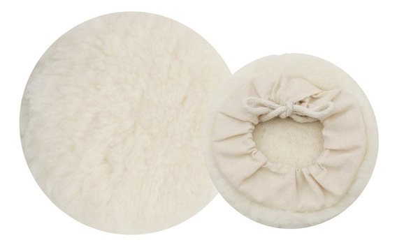 Super Oferta Kit 6 Boinas De Lã Para Polimento Em Geral