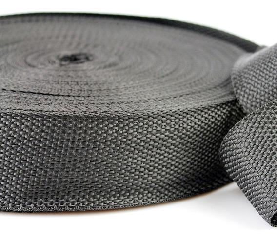 Fita Cinta Rolo Laço 50mm 5cm 50 Metros Preta Confecção Artesanato Lembrancinhas Ima Textil Alta Qualidade Promoção