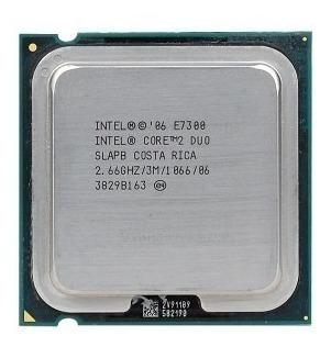 Processador Core2duo E7300 - 2.66ghz.
