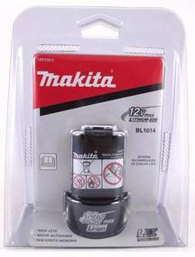 Bateria 12v Bl1014 Makita Original + Nota Fiscal