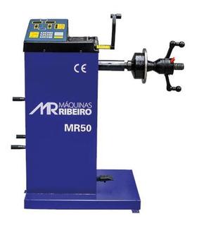Balanceadora De Rodas Manual Azul Mono Mr50 Maq Ribeiro
