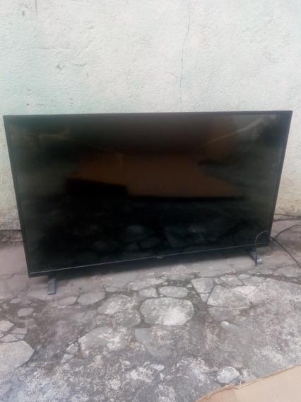 Tv Philco 40 Tela Trincada,liga Mais Não Funciona.