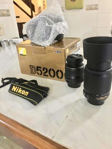 Cámara Nikon D5200. Nueva