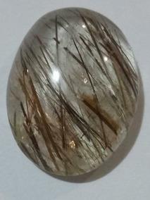 Pedra Preciosa Rutilo Grande Super Extra Lapidada