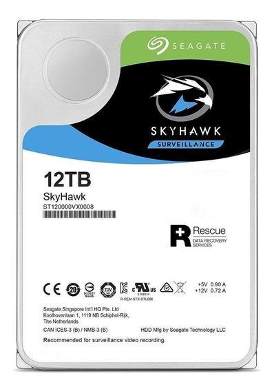 Disco rígido interno Seagate SkyHawk ST12000VX0008 12TB