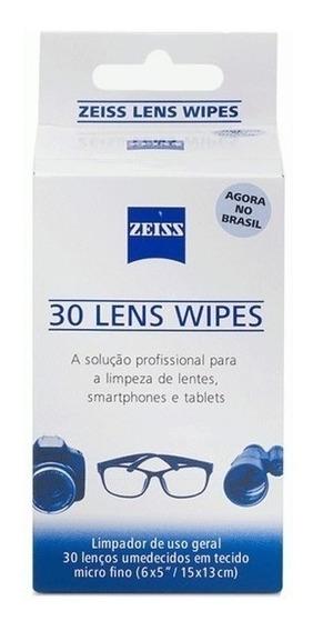 Lenços Umedecidos Zeiss Lens Wipes Limpeza De Lentes Caixa
