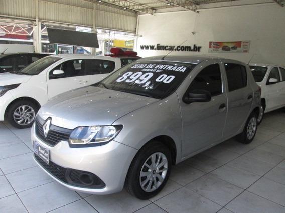 Renault Sandero 2018 Zero De Entrada Trabalhe Em Aplicativo