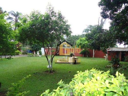 Chácara Com 9 Dormitórios À Venda, 5352 M² Por R$ 1.100.000 - Recreio Internacional - Ribeirão Preto/sp - Ch0013