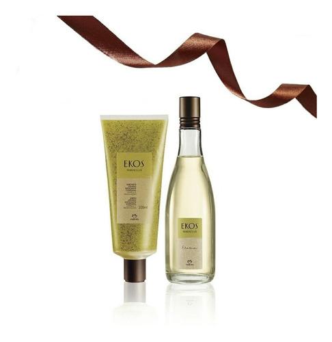 Frescor Maracuyá Perfume Jabon Exfoliante 2 Productos Natura