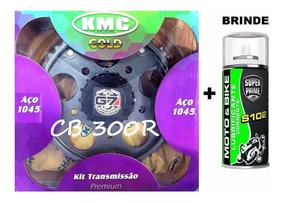 Kit Relaçao (transmissão) Da Cb300 Cb300r 2009/2015 Kmc