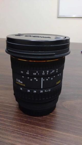 Lente Sigma 17-35mm