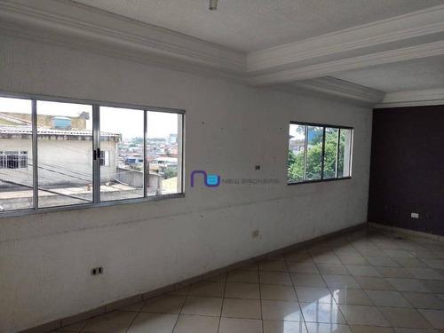 Salão Para Alugar, 25 M² Por R$ 900/mês - Limoeiro - São Paulo/sp - Sl0212