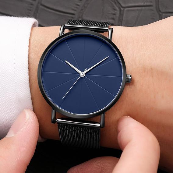 Reloj Casual Acero Inoxidable Moderno Vintage Elegante