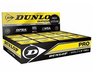 Dagos Pelotas De Squash Dunlop Punto Verde Caja Con 12 Pzas