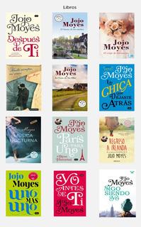 Jojo Moyes. Colección