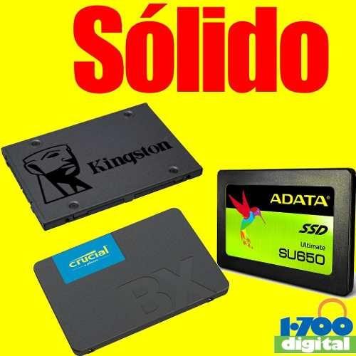 Disco Ssd Solido 120gb Pc Laptop 2.5 Kingston Wd 240 480 500
