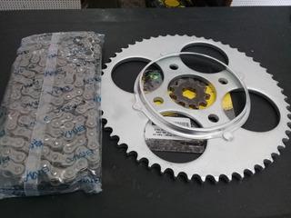 Kit Relação Para Trilha Wheeling Cg Titan Fan 125 150 160
