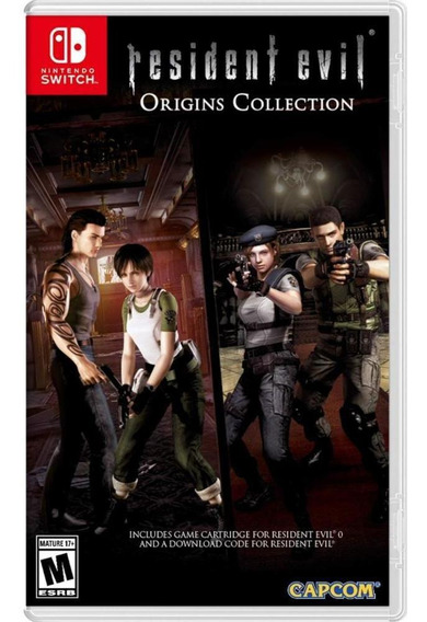 Resident Evil Origins Collection Switch Mídia Física Novo