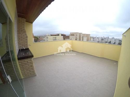 Imagem 1 de 16 de Cobertura S/cond. 130m² 2 Dorms. 2 Vaga No Bairro Utinga-sa - Cob212