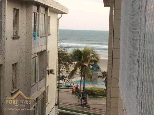 Imagem 1 de 5 de Apartamento Com 2 Dormitórios À Venda, 65 M² Por R$ 230.000,00 - Ocian - Praia Grande/sp - Ap2256