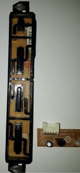 Teclado Sensor Da Tv H-buster Hbtv-2204hd