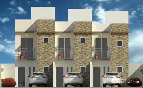 Casa Com 2 Dormitórios À Venda, 67 M² Por R$ 200.000,00 - Santa Teresa - Poços De Caldas/mg - Ca0049