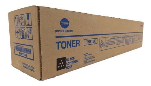 Imagen 1 de 1 de Toner Konica Minolta Tn615k Original Cartucho Color Negro