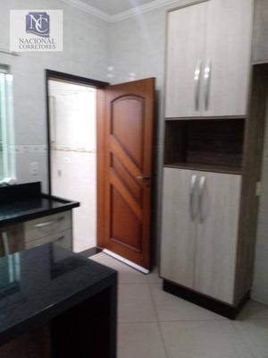 Sobrado Com 3 Dormitórios À Venda, 98 M² Por R$ 395.000 - Jardim Santo Antônio - Santo André/sp - So3242