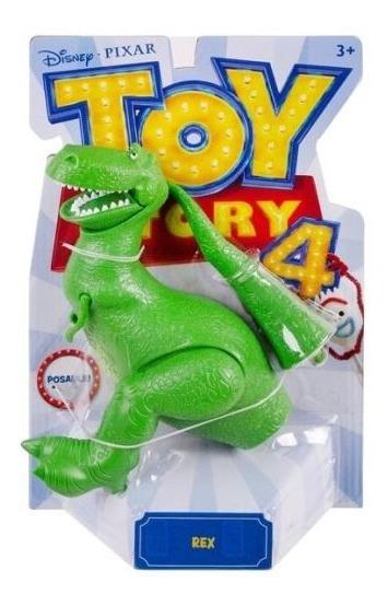 Toy Story 4 Figuras Ts4 Figura Básica Rex- Mattel Gdp65