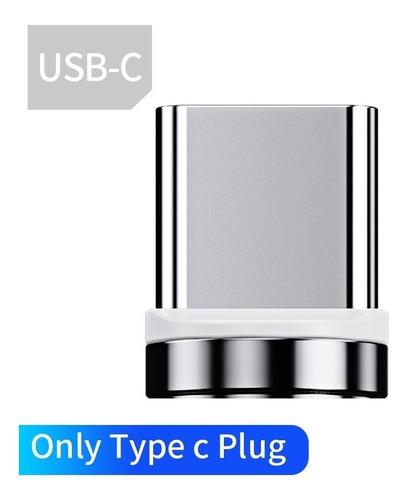 Plug Conector, Solo Plug Sin Cable Magnético, Carga Rápida