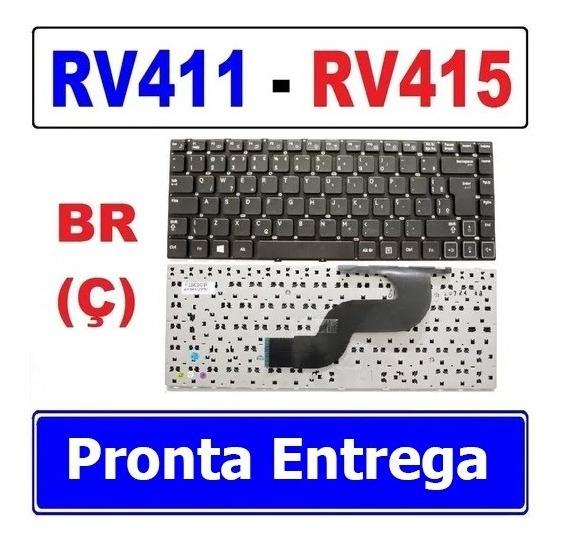 Teclado P/note Samsung Rv411 Rv415 Rv420 Rv419 Rc410 Com C