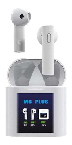 Imagen 1 de 8 de Audifonos Bluetooth Manos Libres M6 Plus Original Fralugio