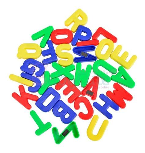 Imagen 1 de 1 de Set Letras Imanadas Para Niños Juguetes Didácticos Juegos