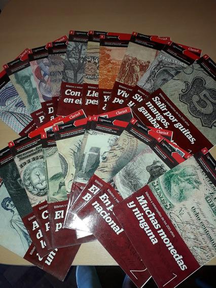 Colección Clarín Billetes Y Estampillas Del Bicentenario