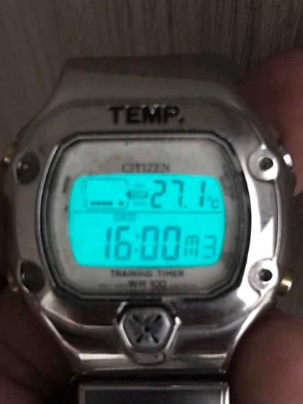 Relógio Citizen Original D320 - Máquina Perfeita