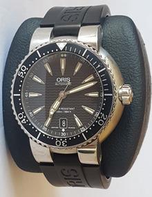 Reloj Oris Divers Date Automático Caja De 44 Mm Ref. 7533 P
