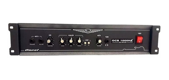 Amplificador Cabeçote Oneal Ocb 1000hx 350w Rms P/baixo