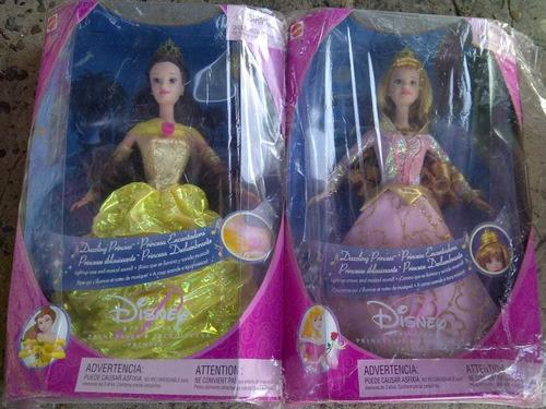Barbie Muñeca Princesa Aurora Bella Durmiente O Bella Bestia
