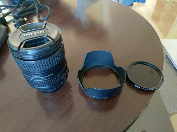 Lente Objetiva Nikon Nikkor Af-s 16-85mm F3.5 - 5.6 G Ed Dx