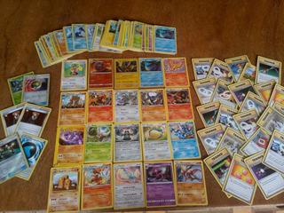 Lote De Cartas Pokemon, 105 Raras
