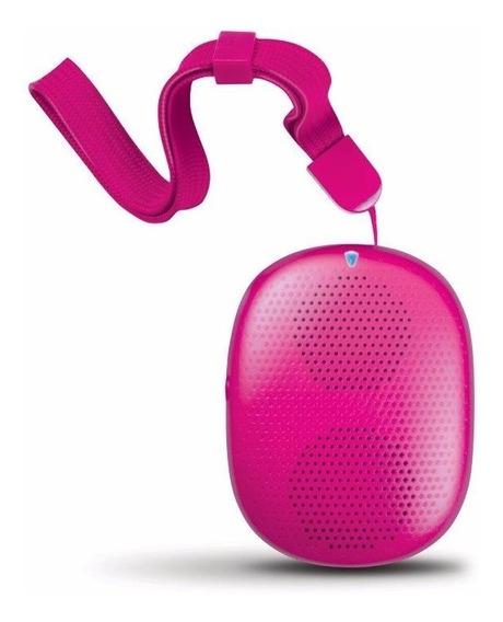Caixa De Som Isound Popdrop Bluetooth - Rosa