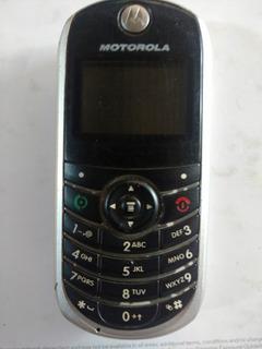 Celular Motorola C139 Original De Tecla Usado