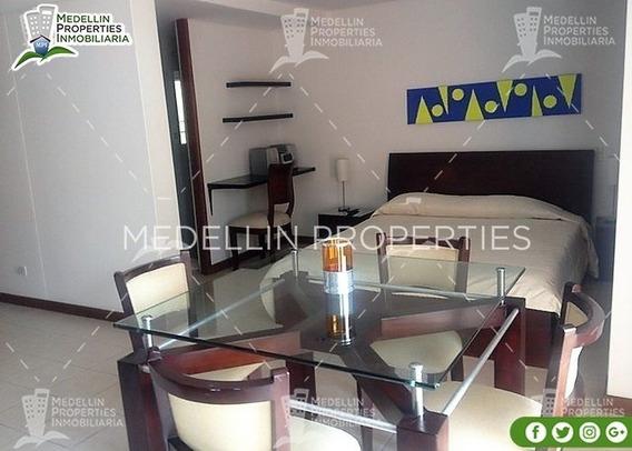 Apartamentos Amoblados Economicos En Medellin Cód: 4502