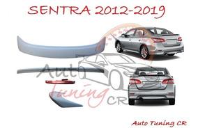 Coleta Spoiler Tapa Baul Nissan Sentra 2012-2019