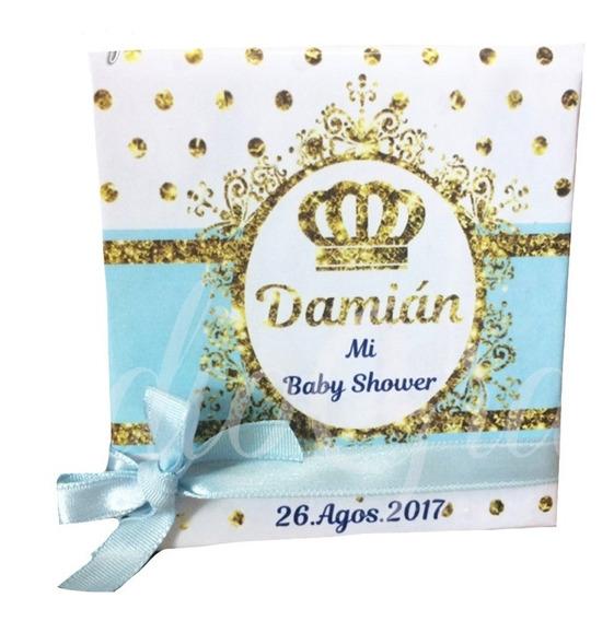 Recuerdos Invitacion Libretas Baby Shower Paq 50 Bautizo