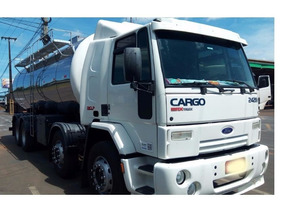 Ford Cargo 2428 Tanque Inox Ano 2011