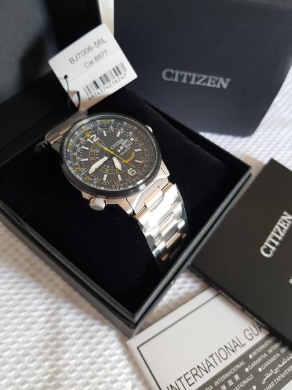 Relógio Citizen Blue Angels Bj7006-56l Promaster Nighthawk