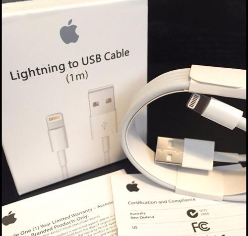 Cable Original Para iPhone 5, 5c, 5s, 6, 6 Plus,7 iPad, iPod
