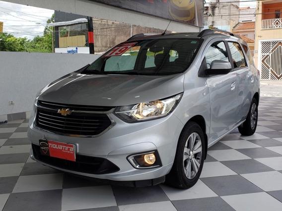 Chevrolet Spin Ltz 1.8 Automática 2019 Prata 7 Lugares