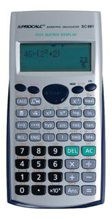 Calculadora Científica Sc991 Procalc Similar Casio Fx991es